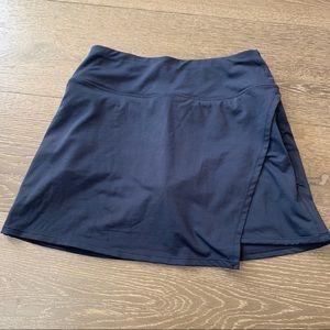Athleta Skirt Skort Navy Blue XS Like New Athletic